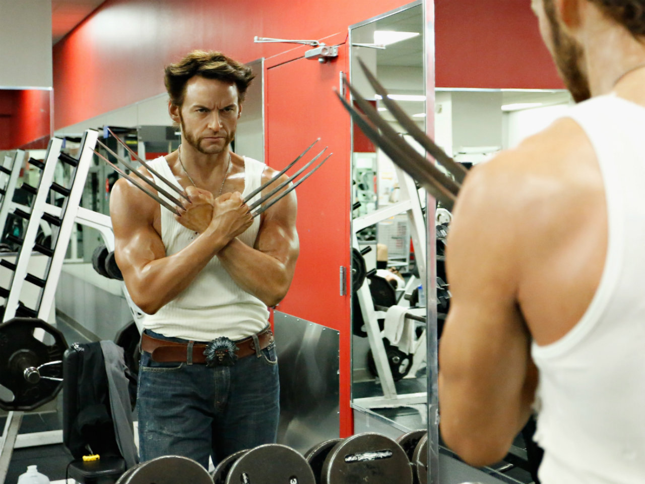 Build a bigger upper body with Hugh Jackman's chest routine