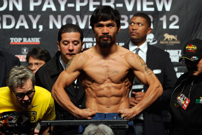Manny Pacquiao's Boxing Champ Workout | Muscle & Fitness