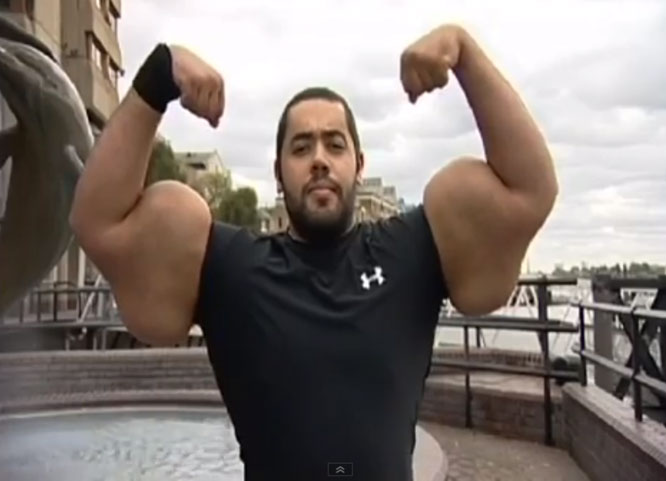 Mo Ismail - Guinness World Record for Largest Biceps