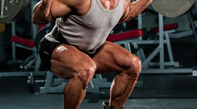 Safety Bar Squats for Jacked Quads