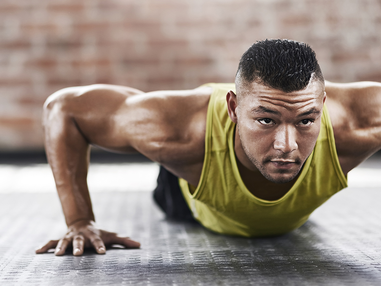 The pullup-pushup workout routine