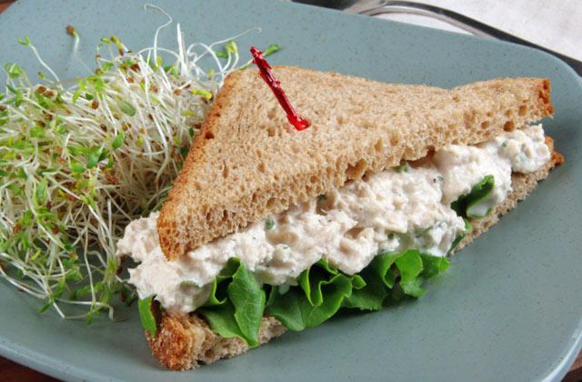 mayo alternative tuna salad