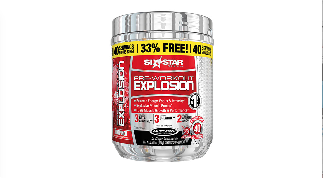 Explosion Pre-Workout Supplement