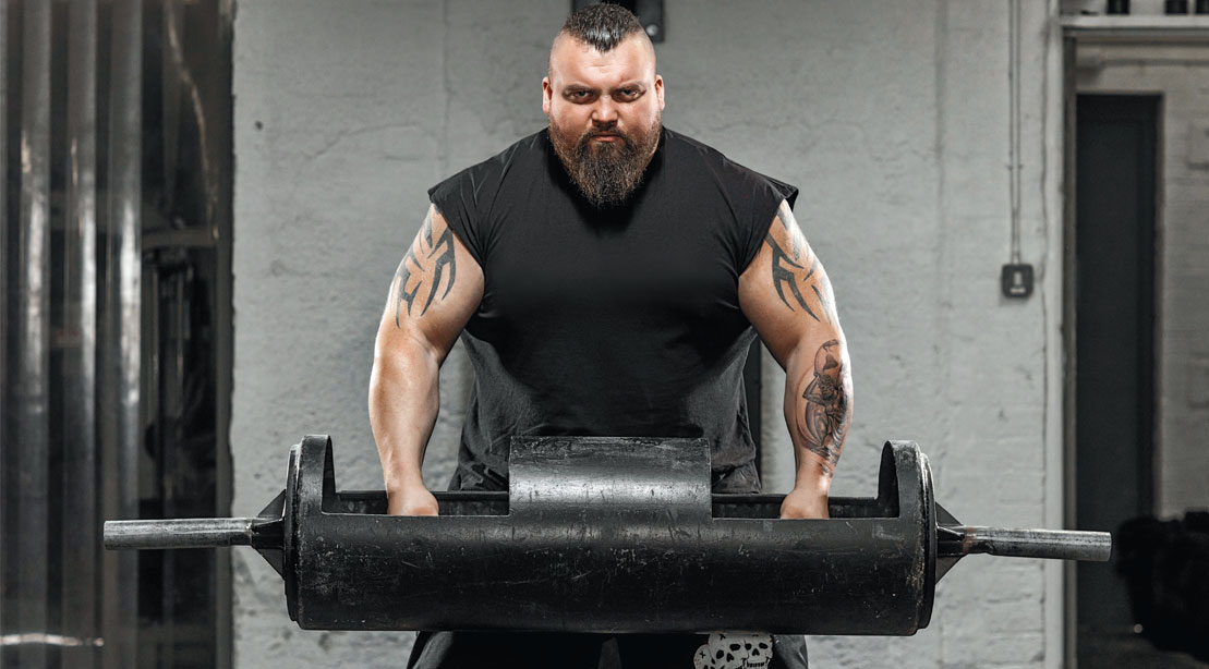 Eddie Hall Reveals What May Be His Most Cringeworthy Injury