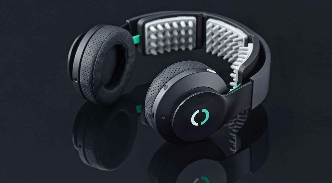 Fones de ouvido eletrizantes