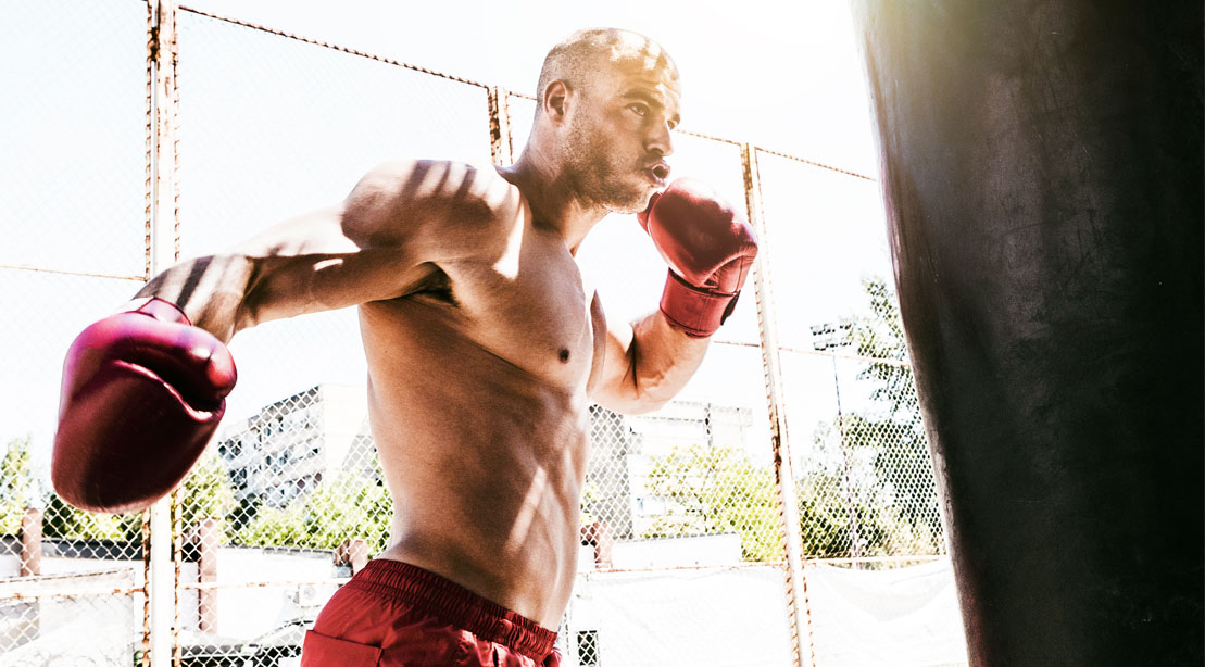 How to Work the Heavy Bag Like a Pro Boxer
