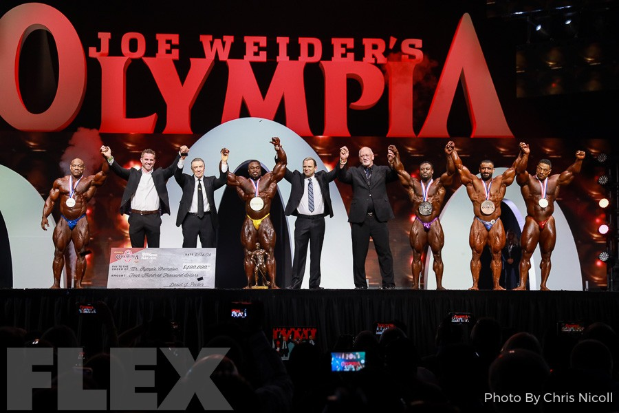 2019 Olympia Finals Report