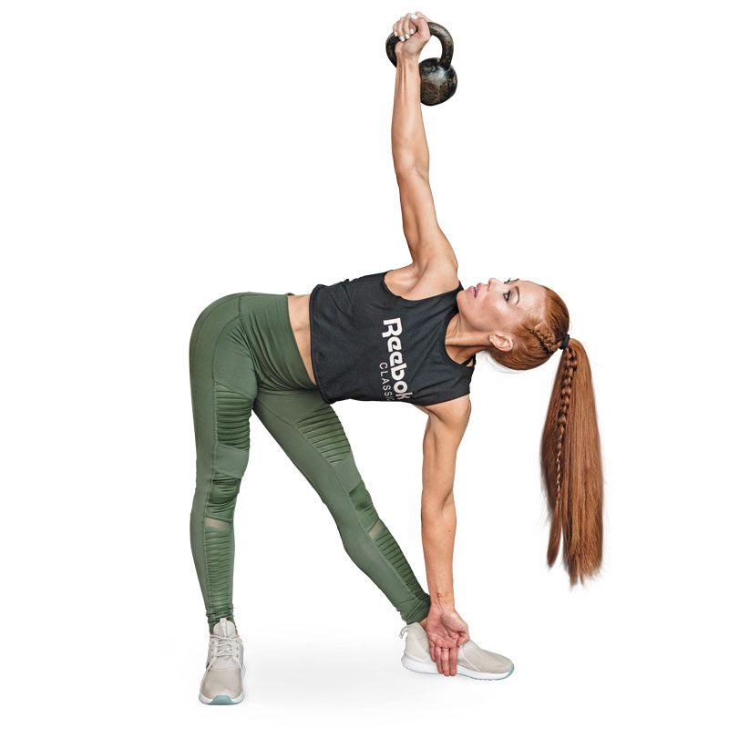 Exercise Kettlebell Overhead Windmill Modified: How To Do A Kettlebell Windmill