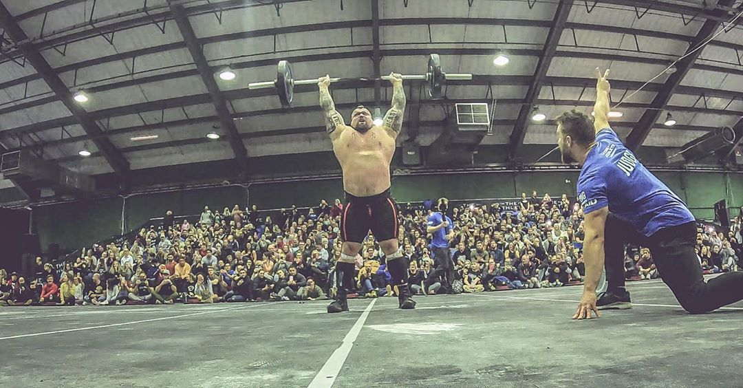 Strongman Eddie Hall Sets CrossFit World Record