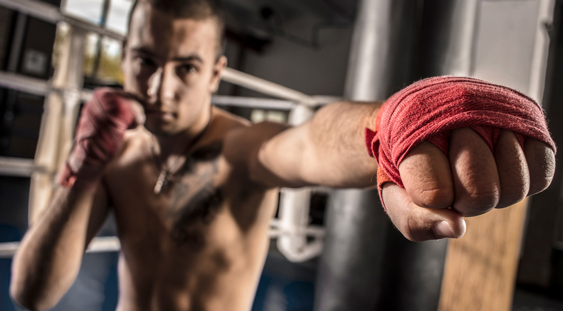 The Full-Body Shadow Boxing Workout Routine to Get Fight Ready Fit
