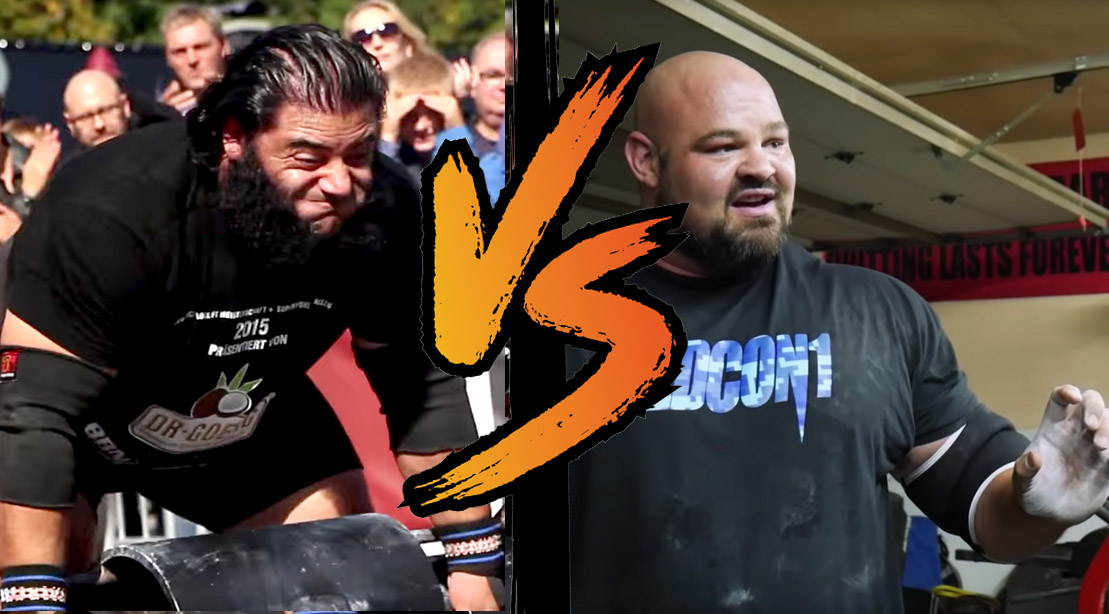 Battle of the Strongest: Brian Shaw vs. Patrik Baboumian