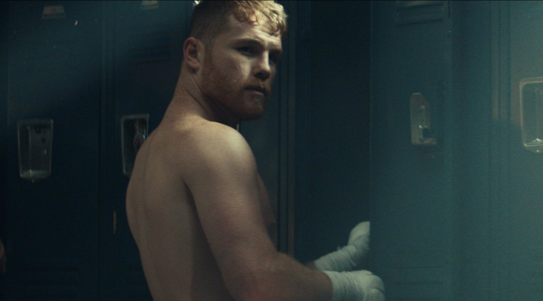 Canelo Alvarez At Gym Locker