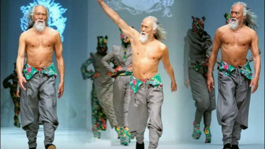 Badass 80-Year-Old Grandpa Crushes it On Catwalk