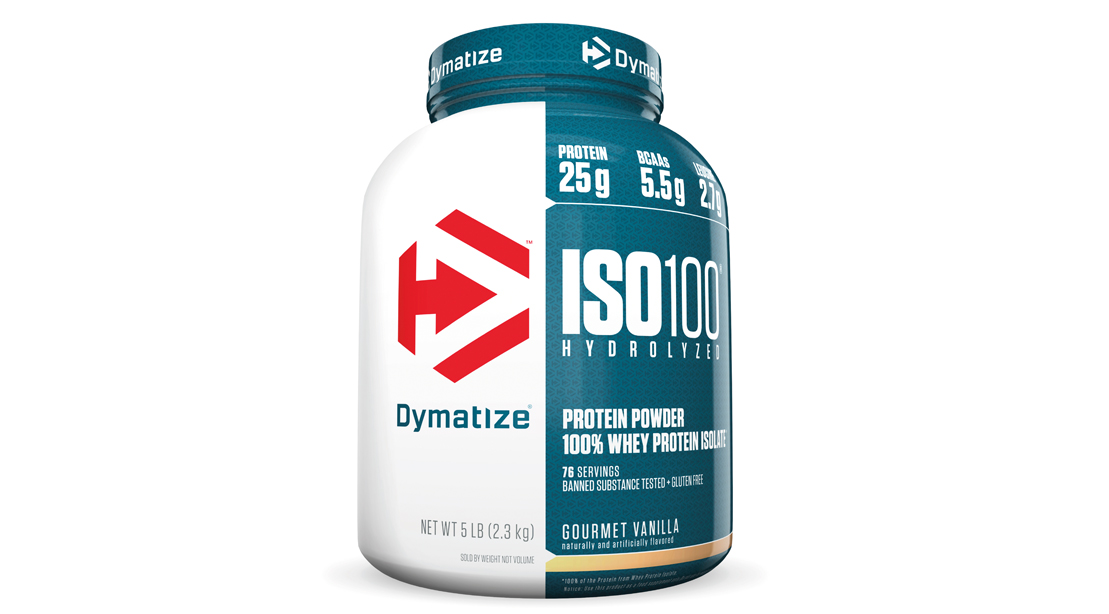 Dymatize whey protein product