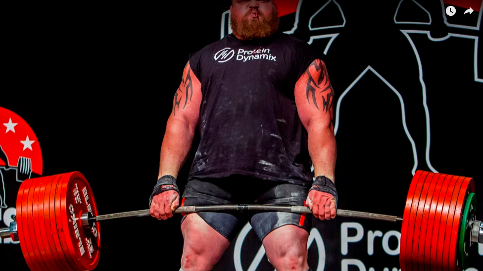 Eddie Hall Sets New Deadlift World Record | Muscle & Fitness
