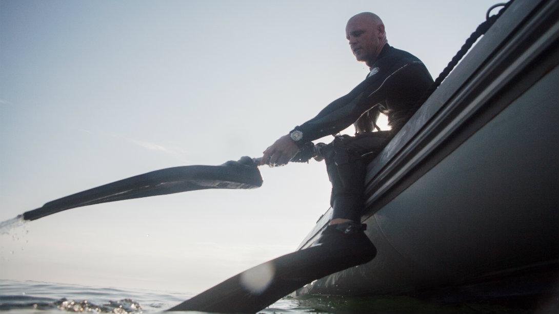 Paul De Gelder ocean