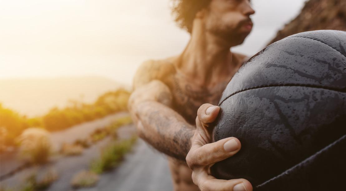 5 Ways to Do Medicine Ball Slams