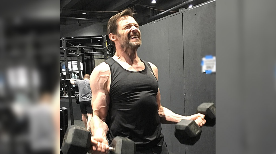 Hugh Jackman's 'Wolverine 3' Training Looks Intense ...