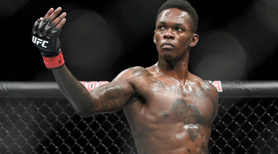 Middleweight UFC Champ Israel Adesanya on How He Became The Biggest