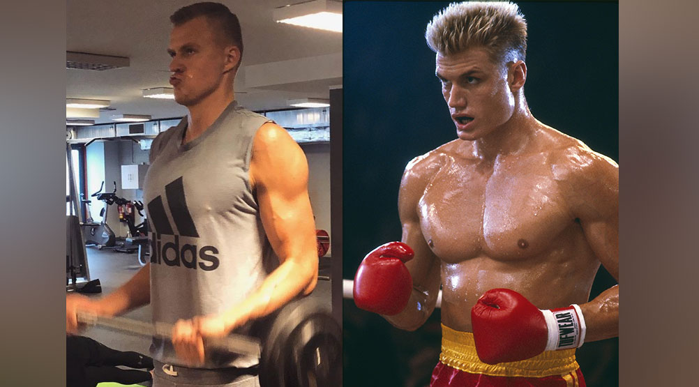 Basketball Star Kristaps Porzingis is Absolutely Swole in New Instagram Photo