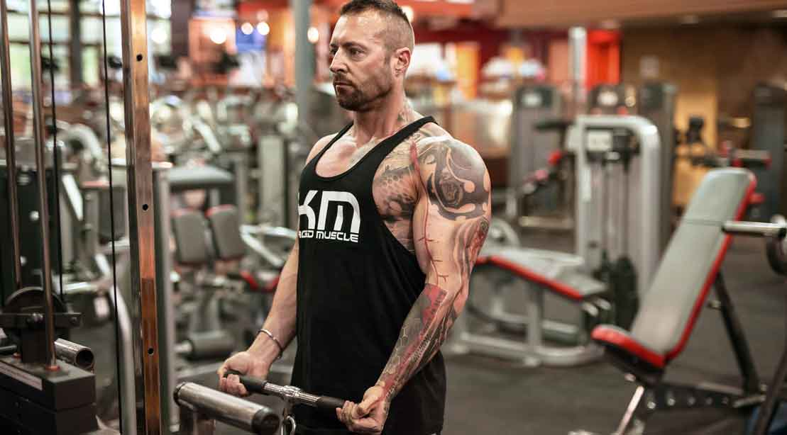 Six Weeks to Massive Arms: Kaged Muscle Biceps Training Program