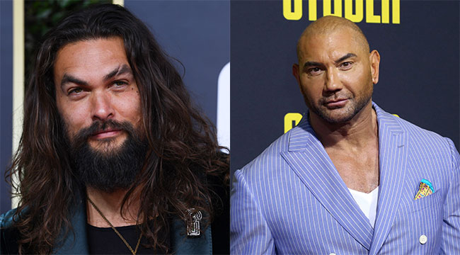Dave Bautista and Jason Momoa Set to Star in TV Show