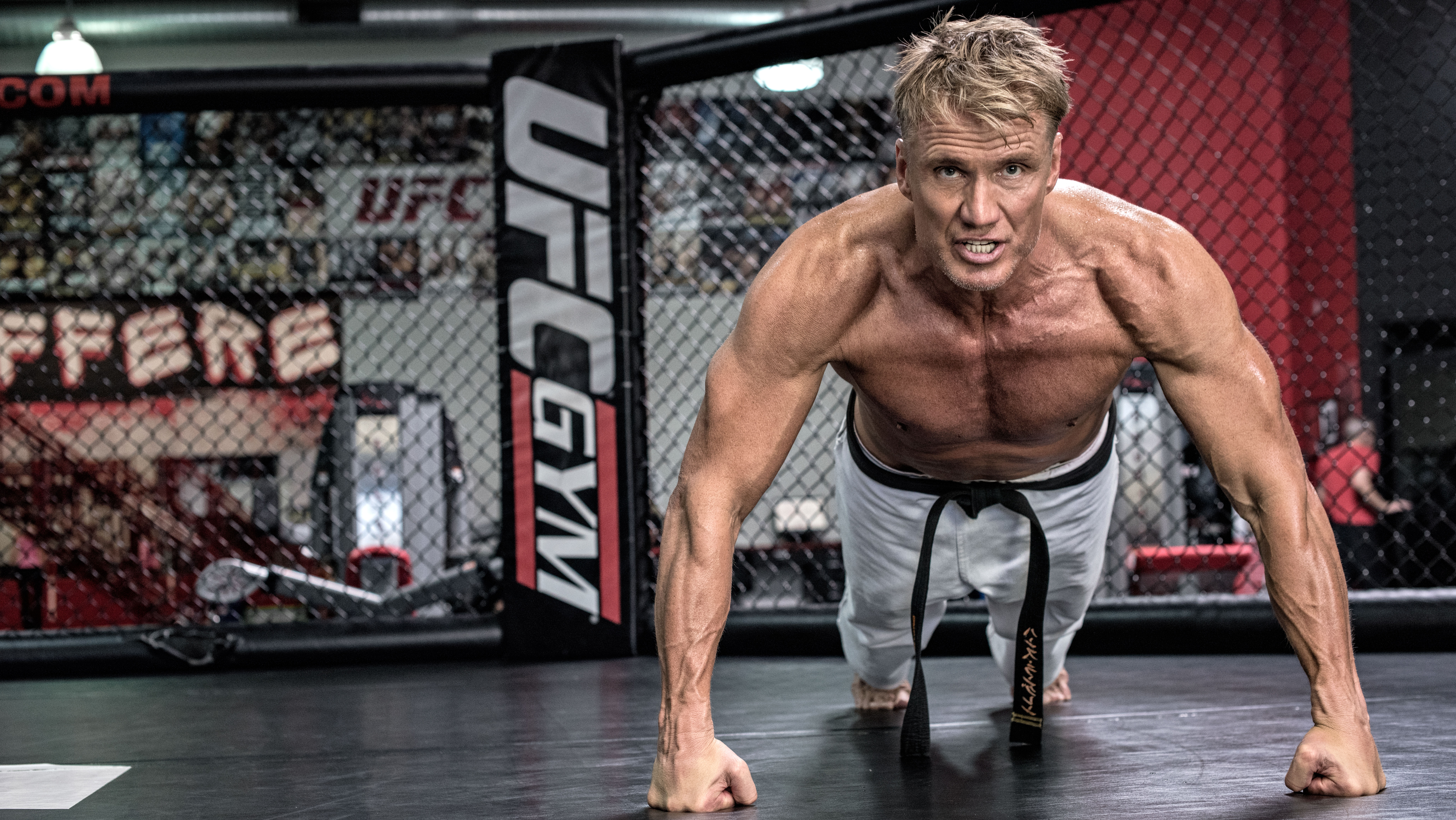 Dolph Lundgrens Age Defying Workouts Muscle Fitness Noexcuses Bodyweight Blast Circuit Workout Build And