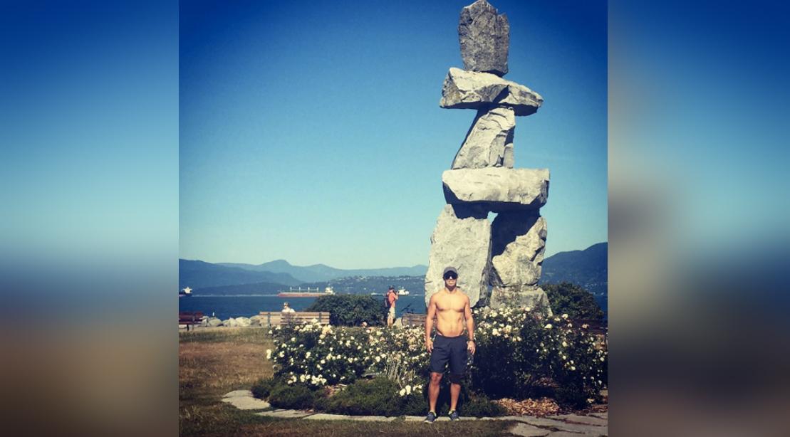 Matt Lockwood Shirtless On Vacation