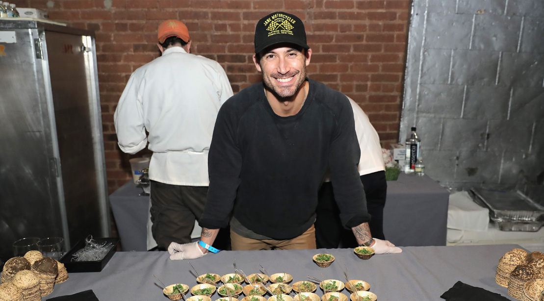 Chef Michael Chernow attends the 2016 New York Taste.