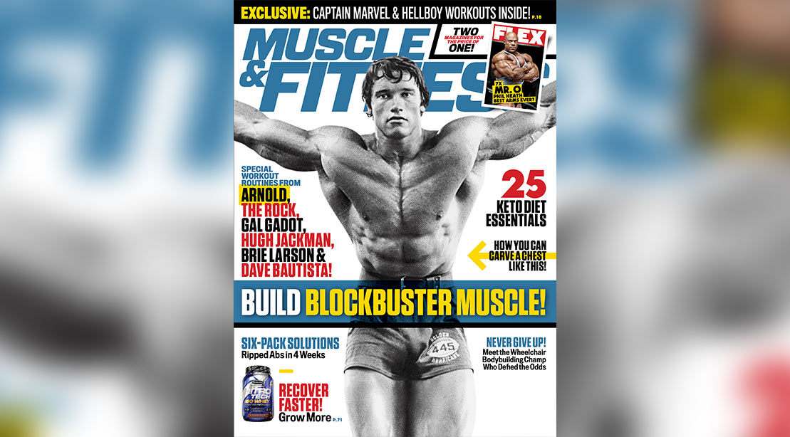 Get the May 2019 Issue of 'Muscle & Fitness'