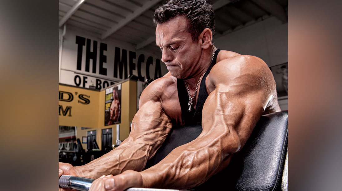 Rich Gaspari's Dragon Slayer Arm Workout