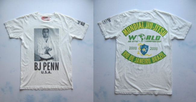 Roots of Fight - BJ Penn tee shirt