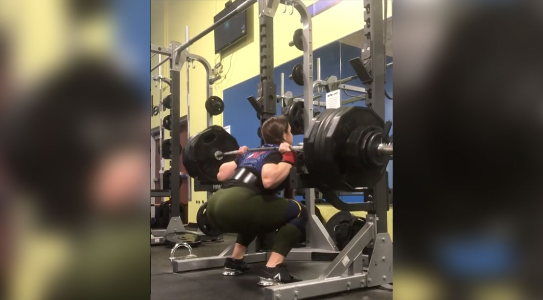 This 21-year Old Woman Most Definitely Squats More Than You