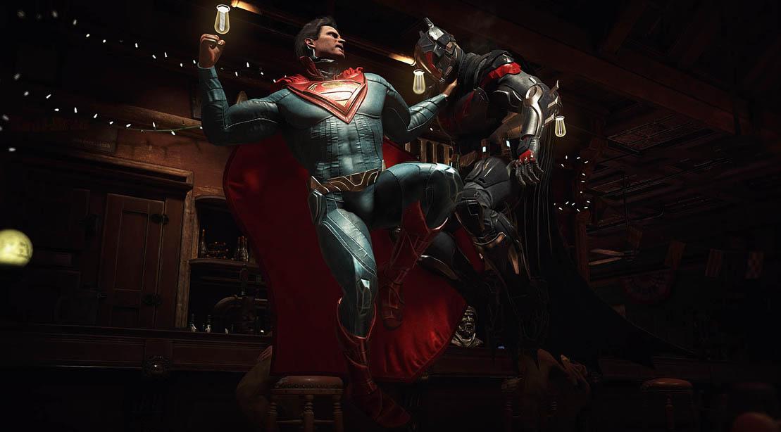 Superman Vs. Batman Injustice 2