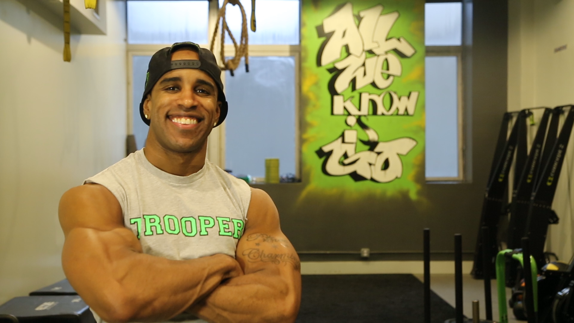 Prince Brathwaite, Co-Founder of Trooper Fitness, NYC