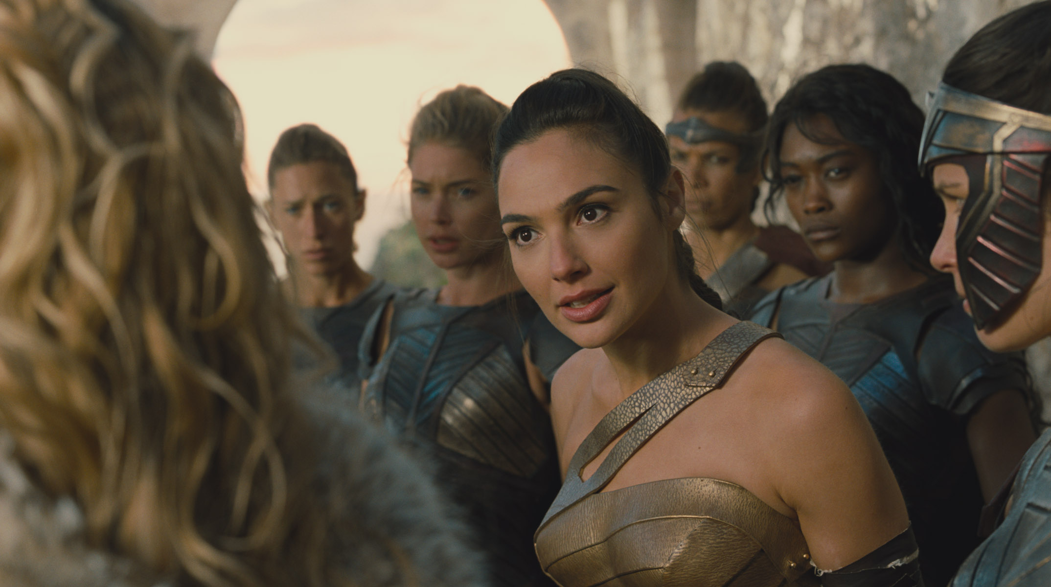 The Badass Real Women Playing Amazons in 'Wonder Woman'