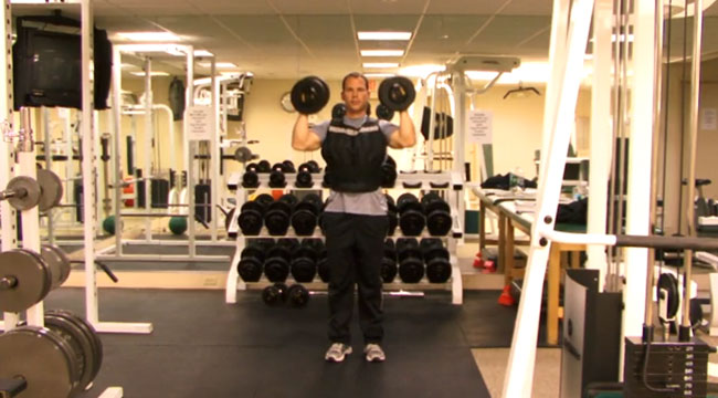 Increase the Intensity With a Weight Vest