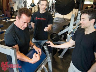 Arnold Schwarzenegger Shawn Perine