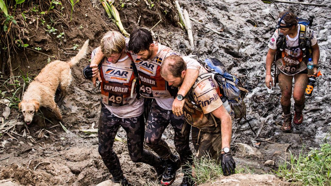 arthur treks with team peak performance