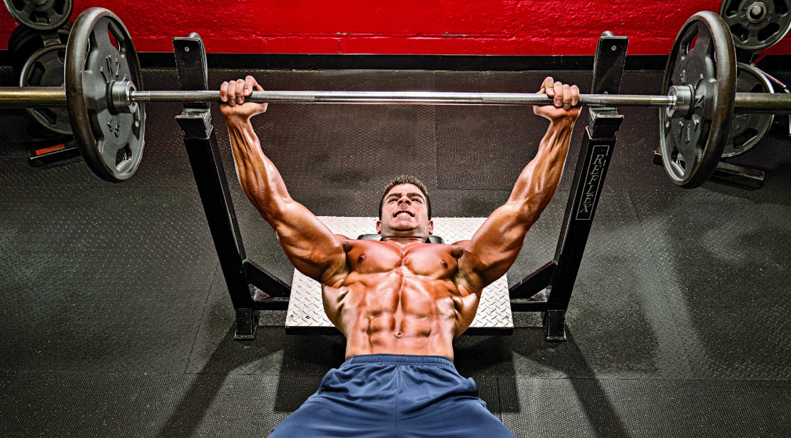 Image result for the rock bench press