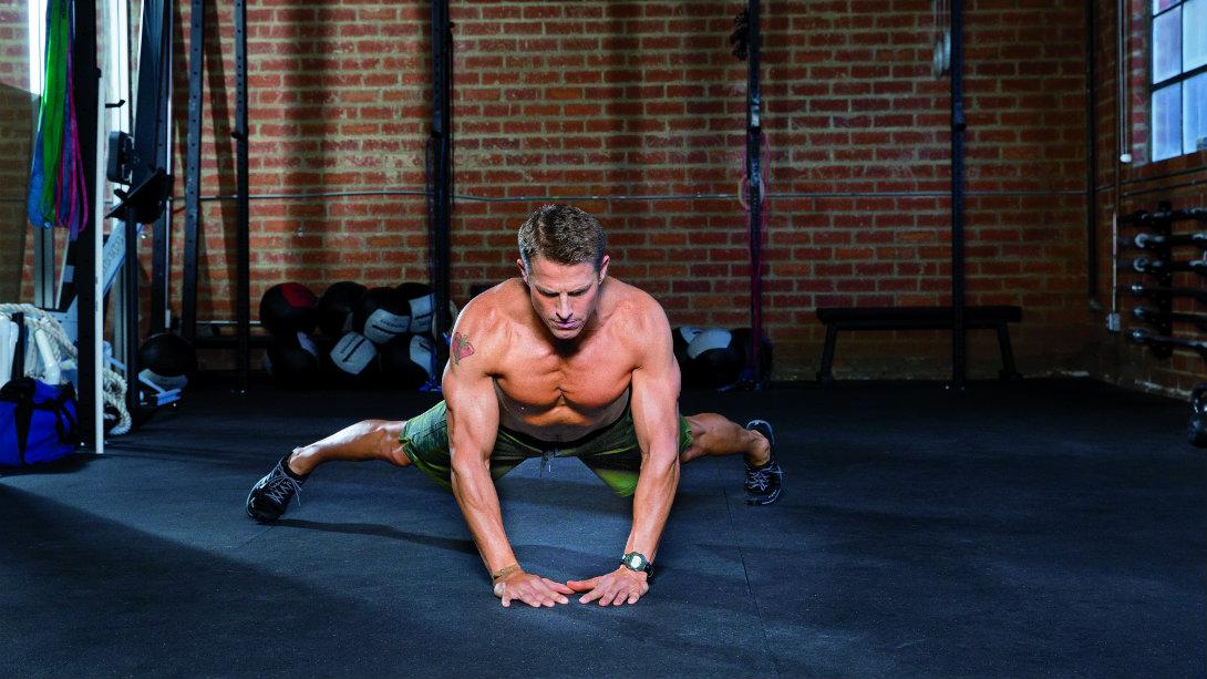 Bodyweight Training: Crab Walk towards a Shredded Six-Pack