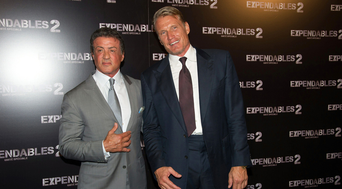 All About Sly Stallone and Dolph Lundgren's Action Series ...