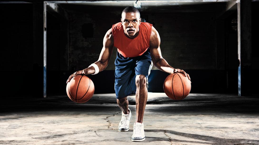 basketball double dribble