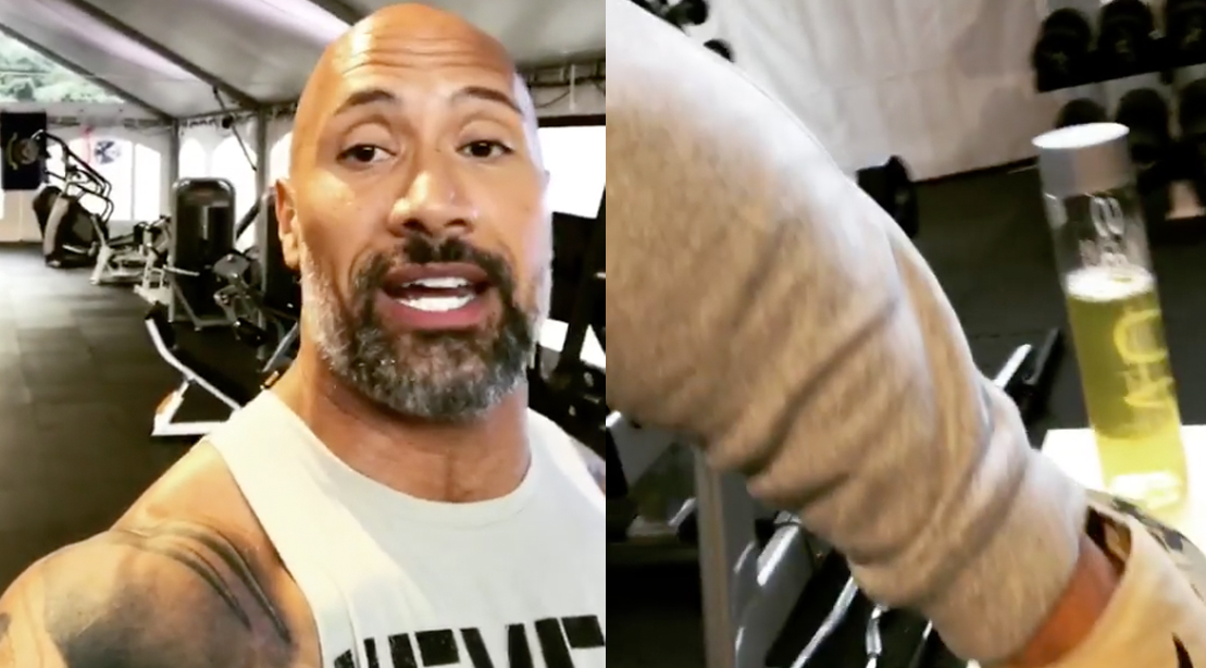 Dwayne Johnson's New Under Armour Collection Releases on ...
