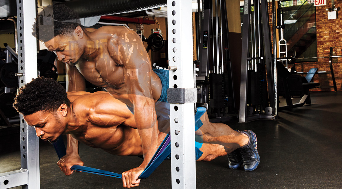 """The """"Earthquake Pushup"""" Workout to Challenge Your Core Stability"""