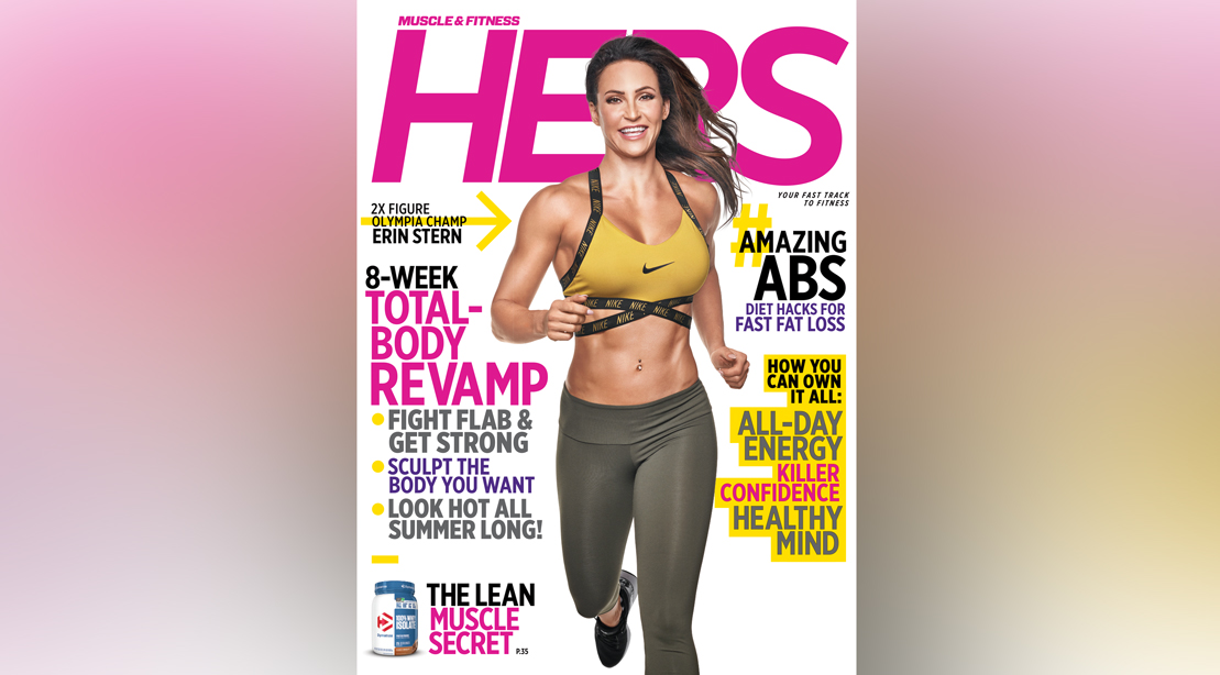 Get the Spring 2019 Issue of 'Muscle & Fitness Hers'