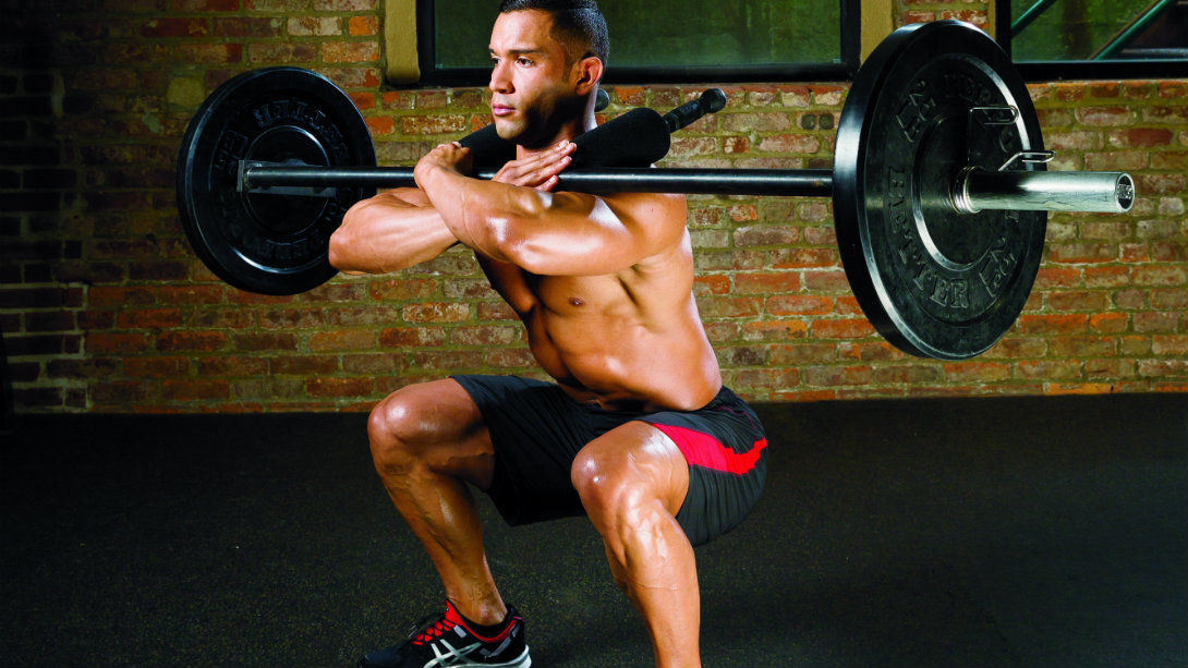 Instant Muscle: A Safer Front Squat