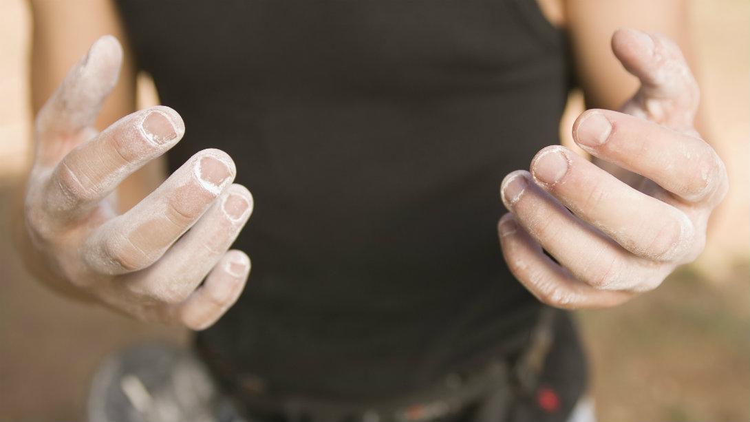 close-up man's hands