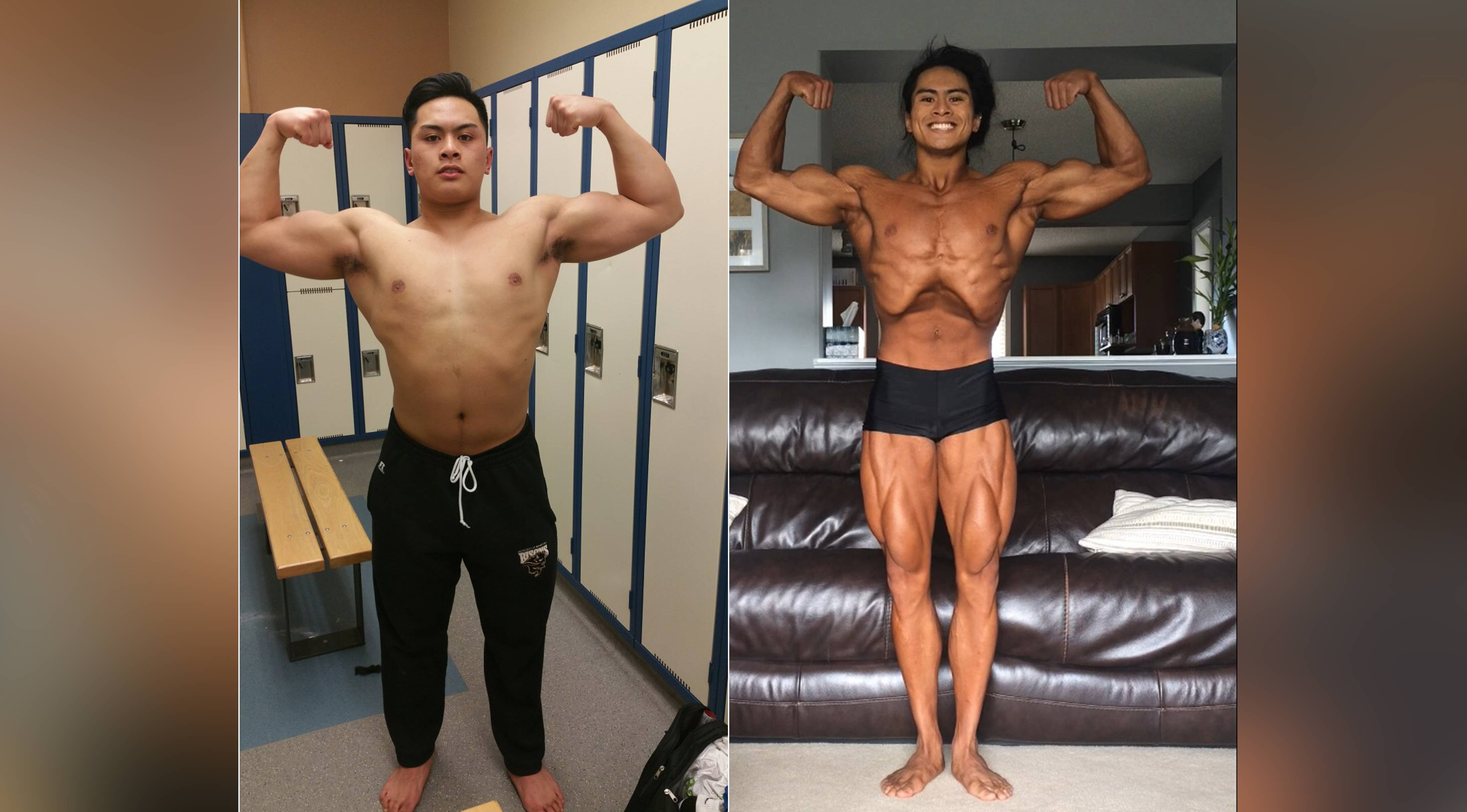 How Ivan Lumbera Transformed From an Average Guy Into a National-level Bodybuilder