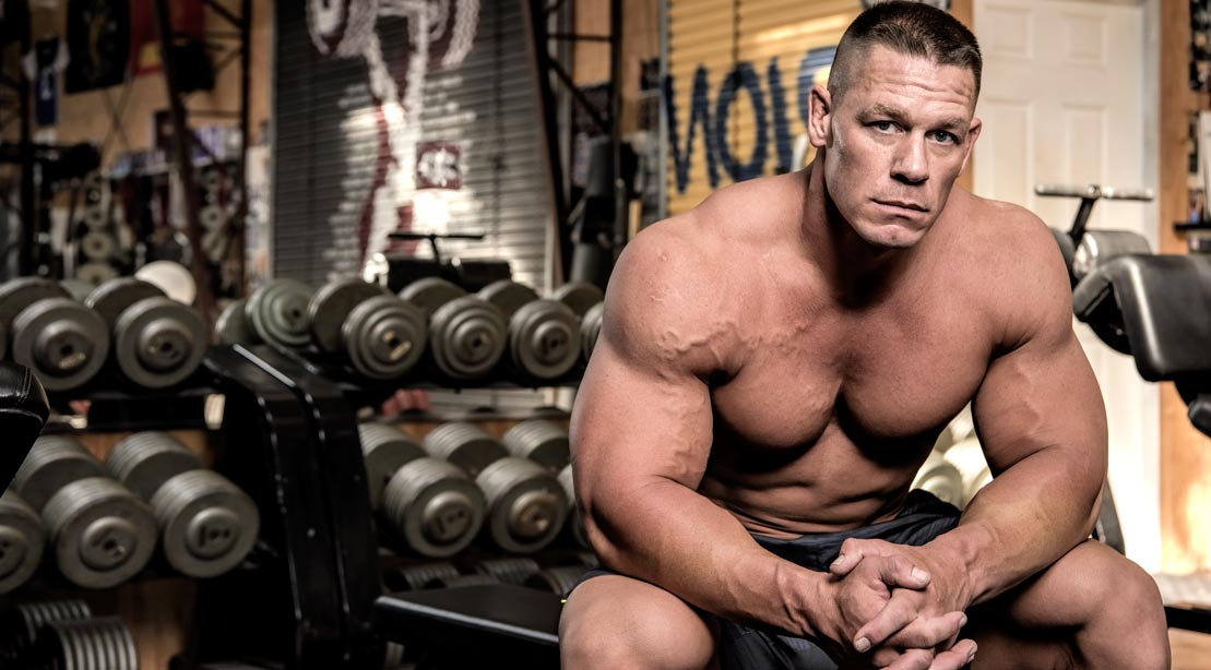 John Cena Talks WWE, Training & \'The Wall\' | Muscle & Fitness